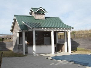 Outer Banks Pool House Roofing